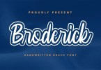 Broderick [1 Font] | The Fonts Master