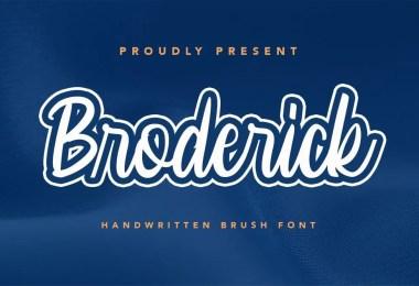 Broderick [1 Font]