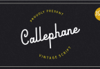 Callephane [3 Fonts] | The Fonts Master