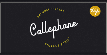 Callephane [3 Fonts]