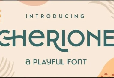 Cherione [3 Fonts]
