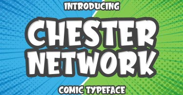 Chester Network [1 Font] | The Fonts Master