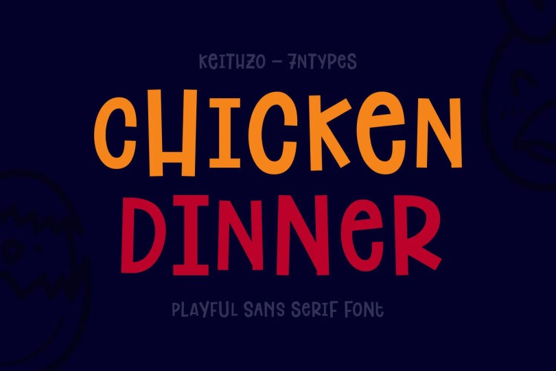 Chicken Dinner [1 Font] | The Fonts Master