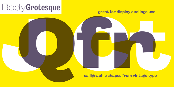 Body Grotesque Super Family [32 Fonts] - The Fonts Master