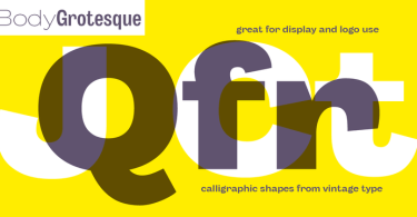 Body Grotesque Super Family [32 Fonts] | The Fonts Master