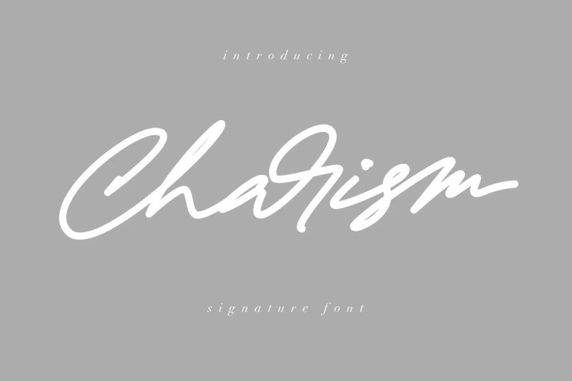 Charism [1 Font]   The Fonts Master