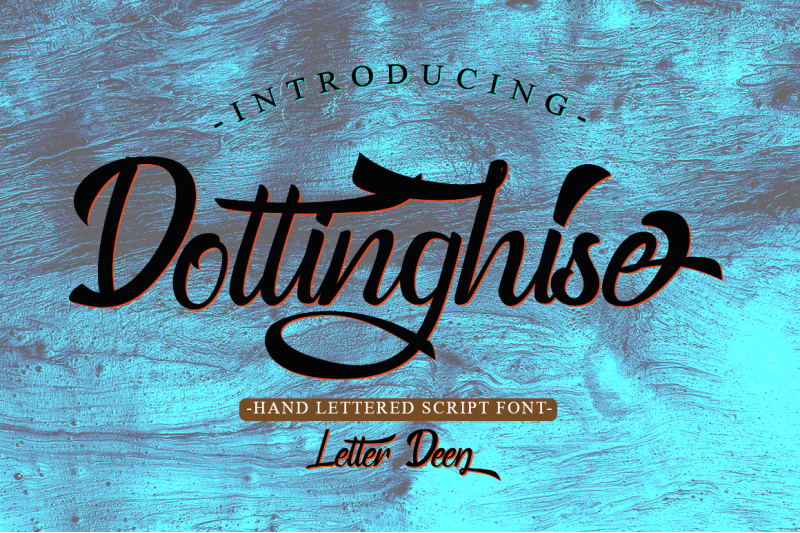 Dottinghise Script [1 Font] | The Fonts Master