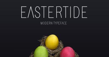 Eastertide [1 Font] | The Fonts Master
