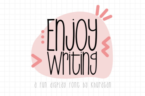 Enjoy Writing [2 Fonts] | The Fonts Master