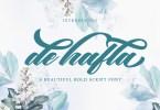 De Hafla [1 Font] | The Fonts Master