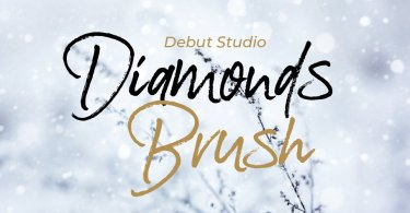 Diamonds Brush [1 Font] | The Fonts Master