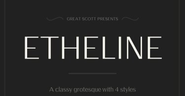 Etheline [4 Fonts] | The Fonts Master