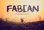 Fabian [1 Font] | The Fonts Master