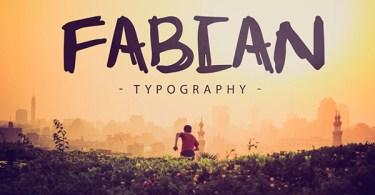 Fabian [1 Font]   The Fonts Master