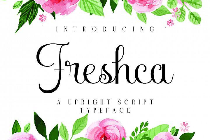 Freshca [1 Font] | The Fonts Master