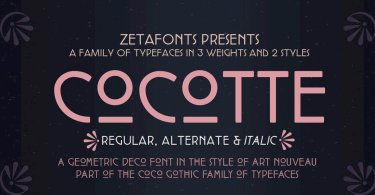 Cocotte Super Family [12 Fonts] | The Fonts Master
