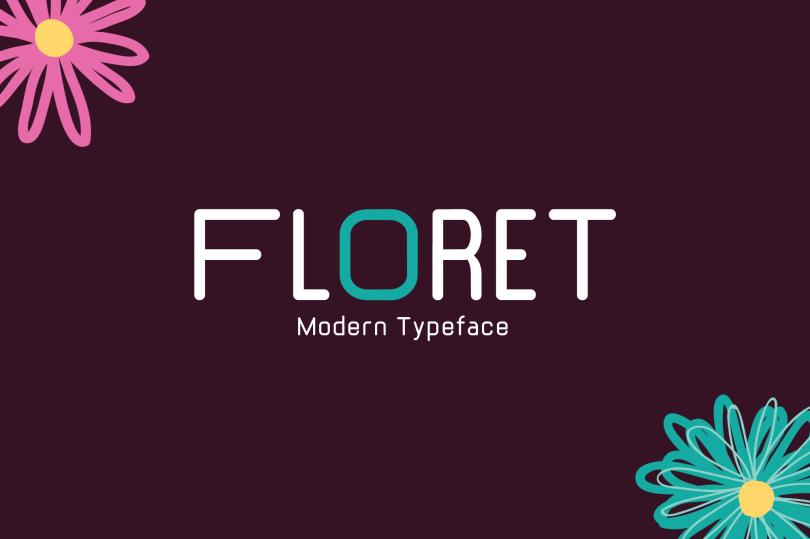 Floret [1 Font] | The Fonts Master