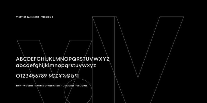 Visby Cf Sans [16 Fonts] | The Fonts Master