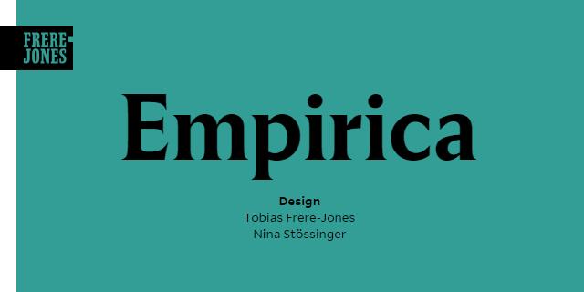 Empirica Super Family [12 Fonts] | The Fonts Master