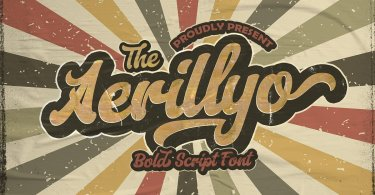Aerillyo [1 Font] | The Fonts Master