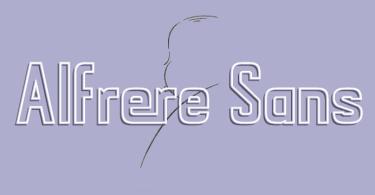 Alfrere Sans [7 Fonts] | The Fonts Master