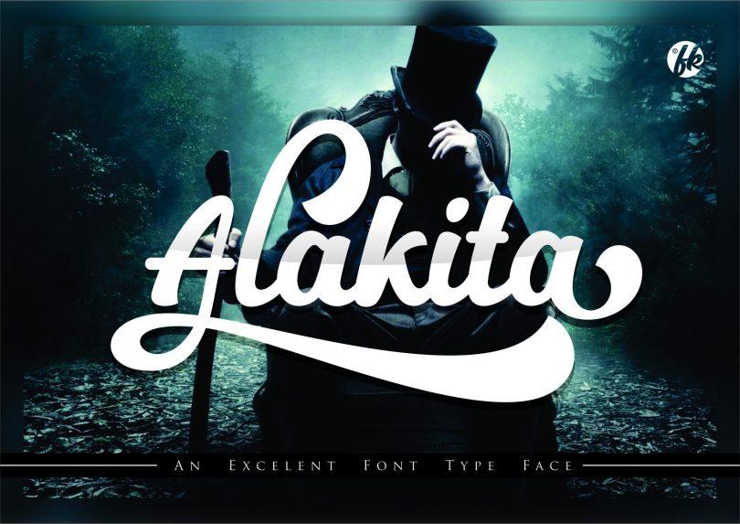 Alakita [1 Font]   The Fonts Master