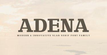Adena [2 Fonts] | The Fonts Master