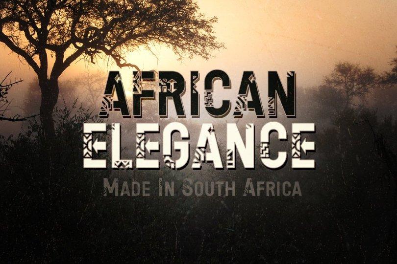 African Elegance [1 Font] | The Fonts Master