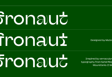 Afronaut [1 Font] | The Fonts Master