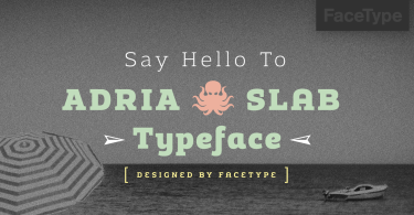 Adria Slab Super Family [14 Fonts] | The Fonts Master