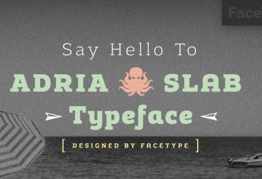 Adria Slab Super Family [14 Fonts]   The Fonts Master