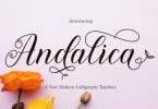 Andalica [1 Font] | The Fonts Master