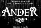 Ander [3 Fonts] | The Fonts Master