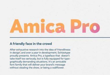 Amica Pro Super Family [18 Fonts] | The Fonts Master