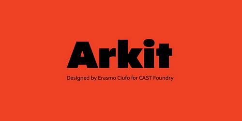 Arkit Super Family [10 Fonts] | The Fonts Master