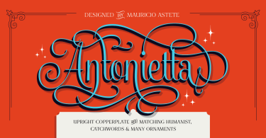 Antonietta Super Family [7 Fonts] | The Fonts Master