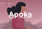 Apoka Super Family [6 Fonts] | The Fonts Master