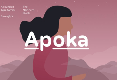 Apoka Super Family [6 Fonts] | The Fonts Master
