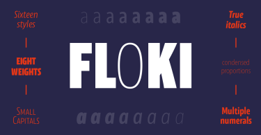Floki Super Family [16 Fonts] | The Fonts Master