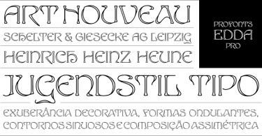 Edda Pro [1 Font] | The Fonts Master