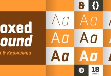 Boxed Round Super Family [18 Fonts]   The Fonts Master