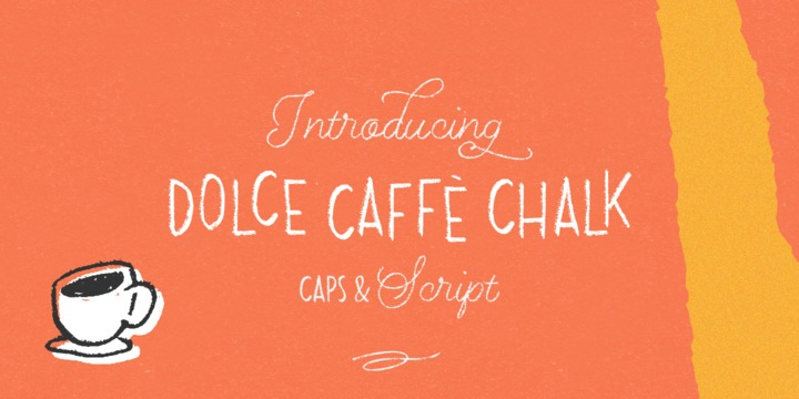 Dolce Caffe Chalk [4 Fonts] | The Fonts Master