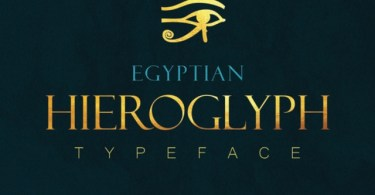 Egyptian Hieroglyph [2 Fonts] | The Fonts Master