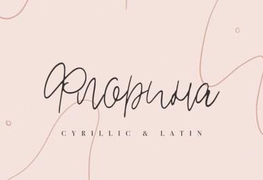 Florina [1 Font] | The Fonts Master