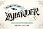 Zailander [1 Font] | The Fonts Master
