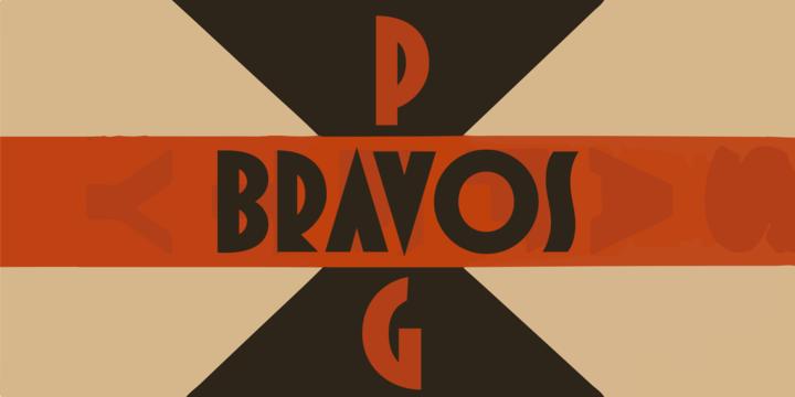 Pag Bravos [1 Font] | The Fonts Master