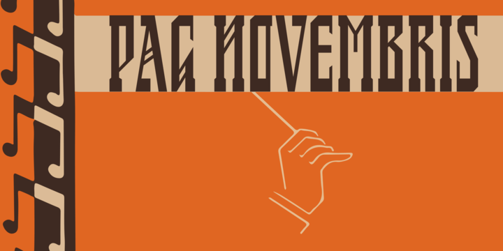 Pag Novembris [1 Font] | The Fonts Master