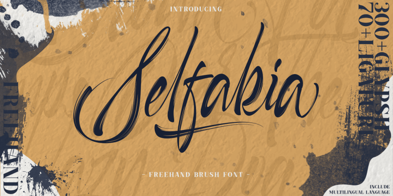 Selfakia [1 Font] | The Fonts Master