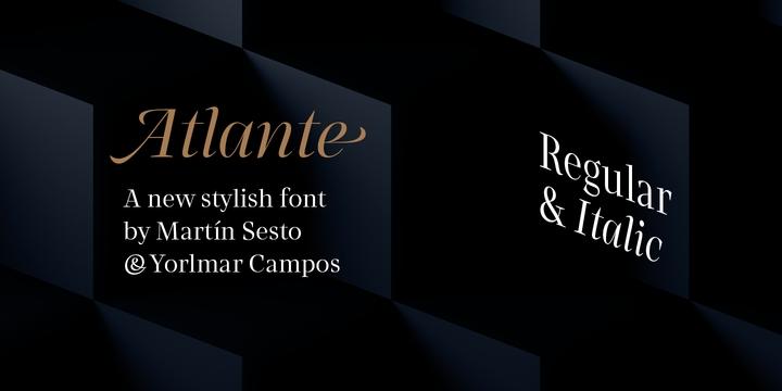 Rns Atlante [2 Fonts] | The Fonts Master