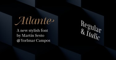 Rns Atlante [2 Fonts] | The Fonts Master